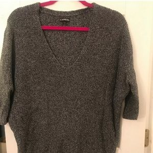 Express Short Sleeve Oversized Sweater Size Small